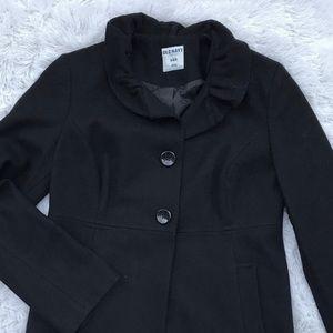 NWOT • Women's Wool Blend Pea-Coat • Medium